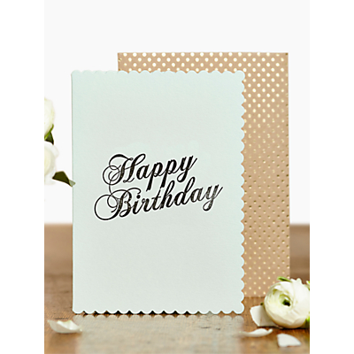 Image of Katie Leamon Luxe Birthday Card