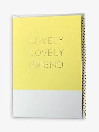 Megan Claire Lovely Friend Card
