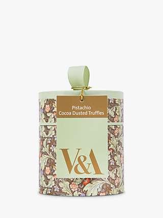 V&A Pistachio Truffles, 100g