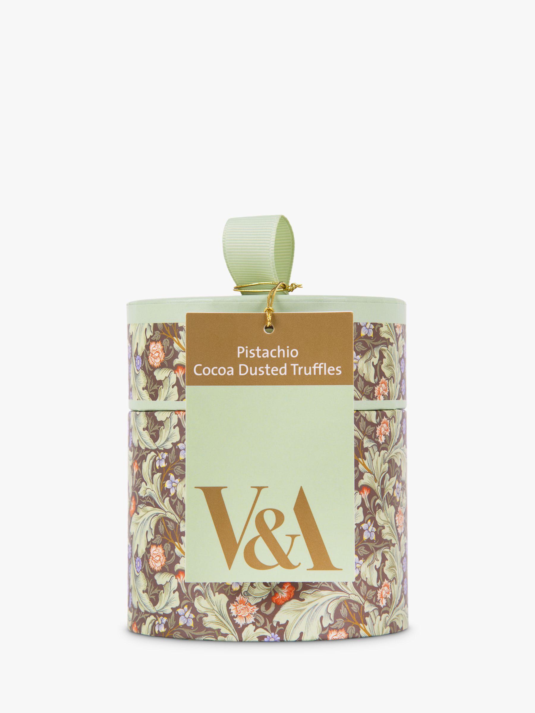 V&A V&A Pistachio Truffles, 100g