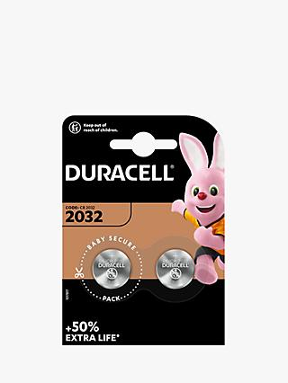 Duracell 3V Lithium Coin Battery, 2032