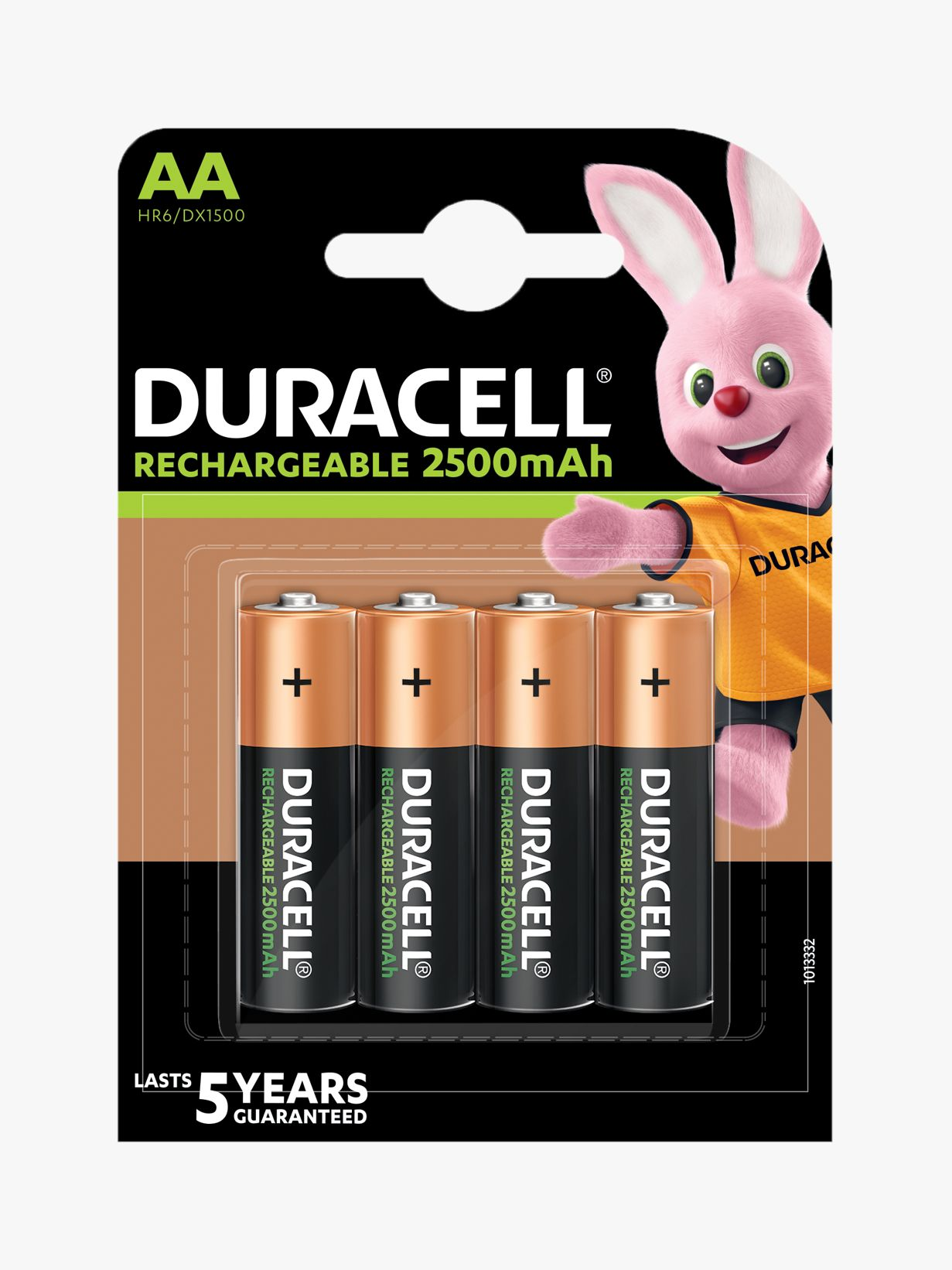 Duracell Duracell Ultra Rechargeable AA Batteries, Pack of 4