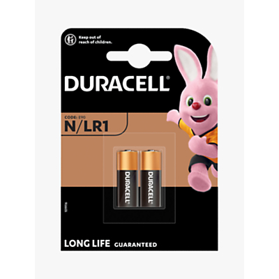 Image of DURACELL Specialty 1.5V Alkaline N Batteries, Pack of 2