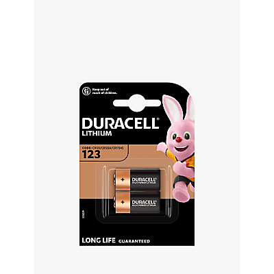 Image of DURACELL High Power 3V Lithium 123 Batteries, Pack of 2