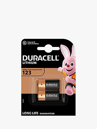 Duracell High Power 3V Lithium 123 Batteries, Pack of 2