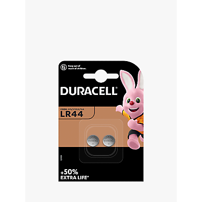 Image of DURACELL 1.5V Alkaline Button Battery, LR44