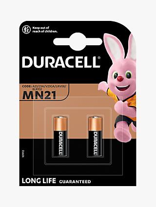Duracell Specialty 12V Alkaline MN21 Batteries, Pack of 2