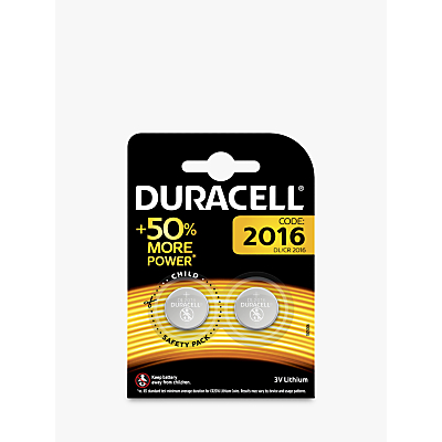 Image of DURACELL 3V Lithium Coin Battery, 2016