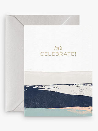 Buy Card Nest Let's Celebrate! Birthday Card Online at johnlewis.com