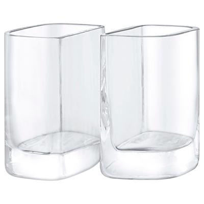 LSA International Echo Vase, Set of 2, H12cm