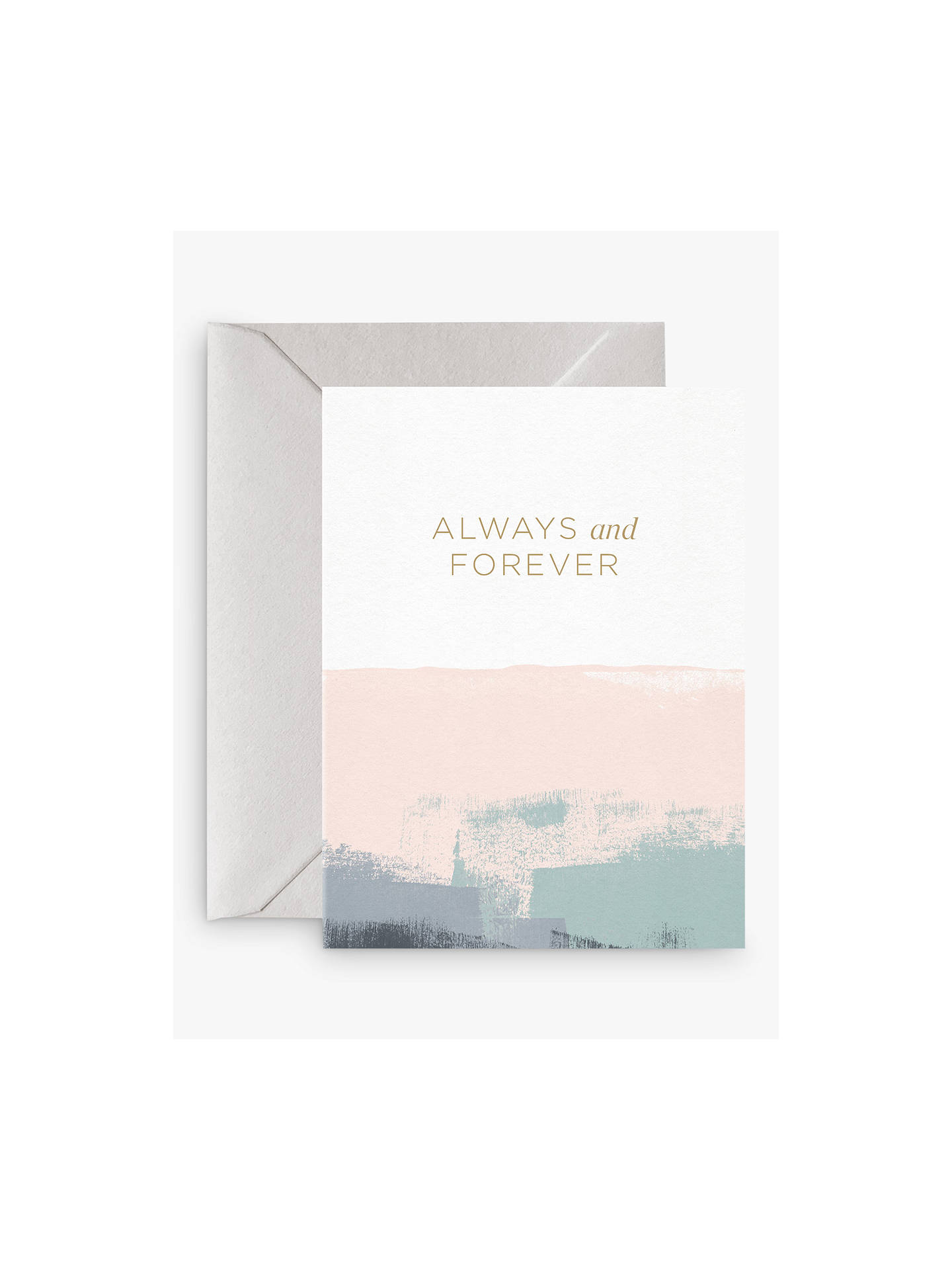 Buy Card Nest Always & Forever Wedding Card Online at johnlewis.com