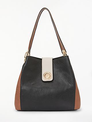Dune Deannee Slouch Hobo Bag Black