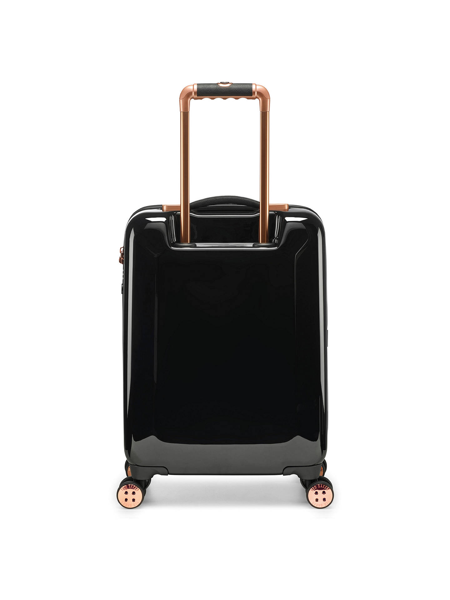 BuyTed Baker Splendour 4-Wheel 54cm Cabin Case, Black Online at johnlewis.com