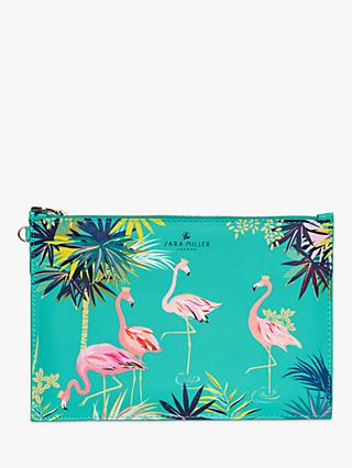 Sara Miller Flamingo Pouch Bag