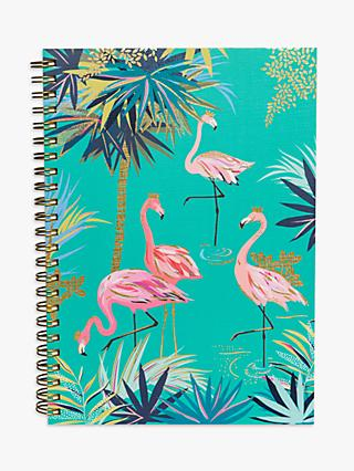 Sara Miller A5 Flamingo Notebook