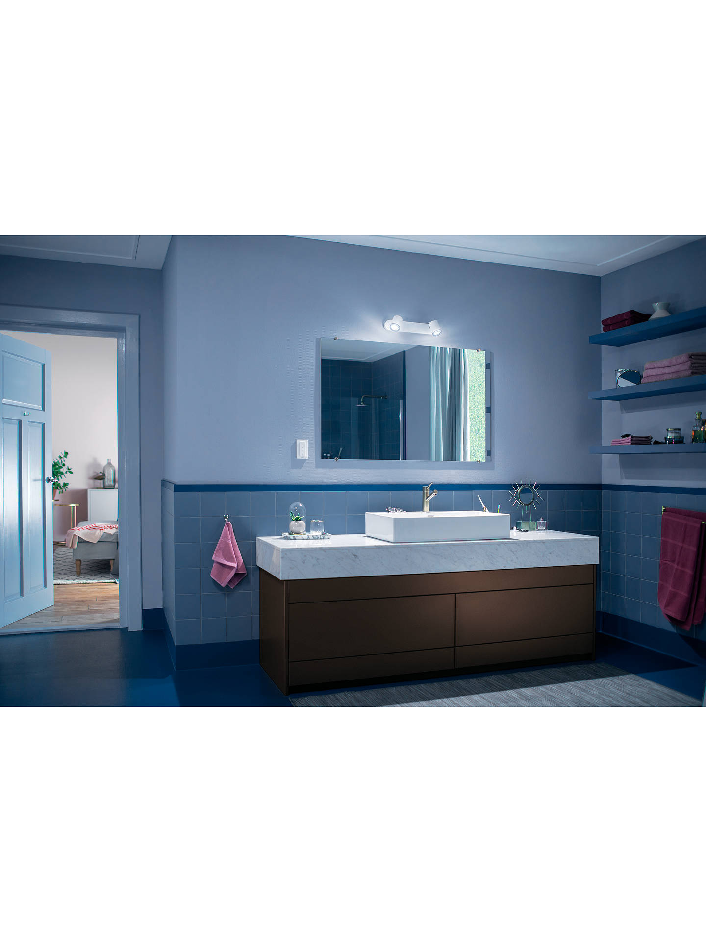 Philips Hue White Ambiance Adore Led Double Bathroom