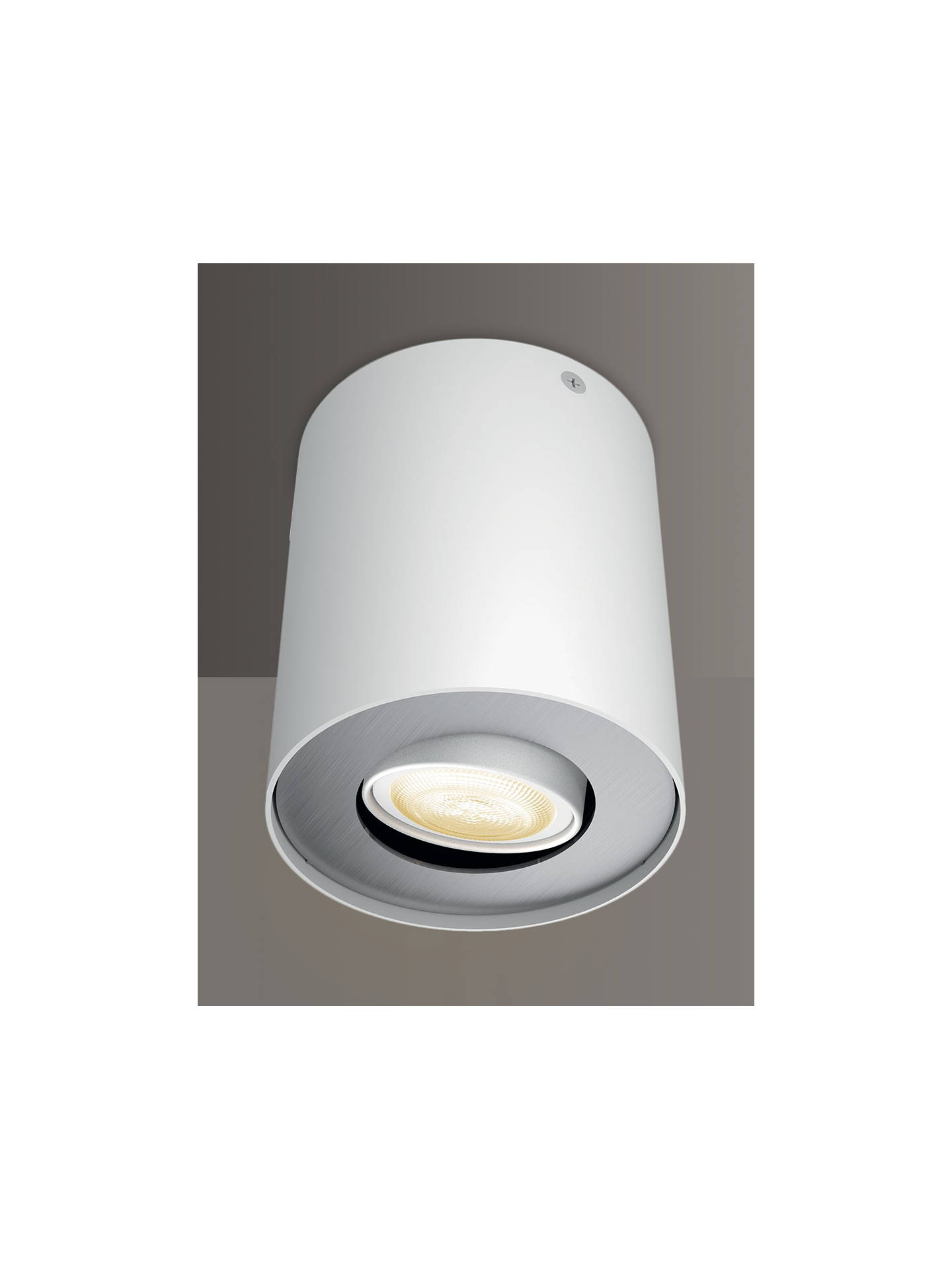 BuyPhilips Hue White Ambiance LED Pillar Spotlight Extension with Dimmer Switch, White Online at johnlewis.com