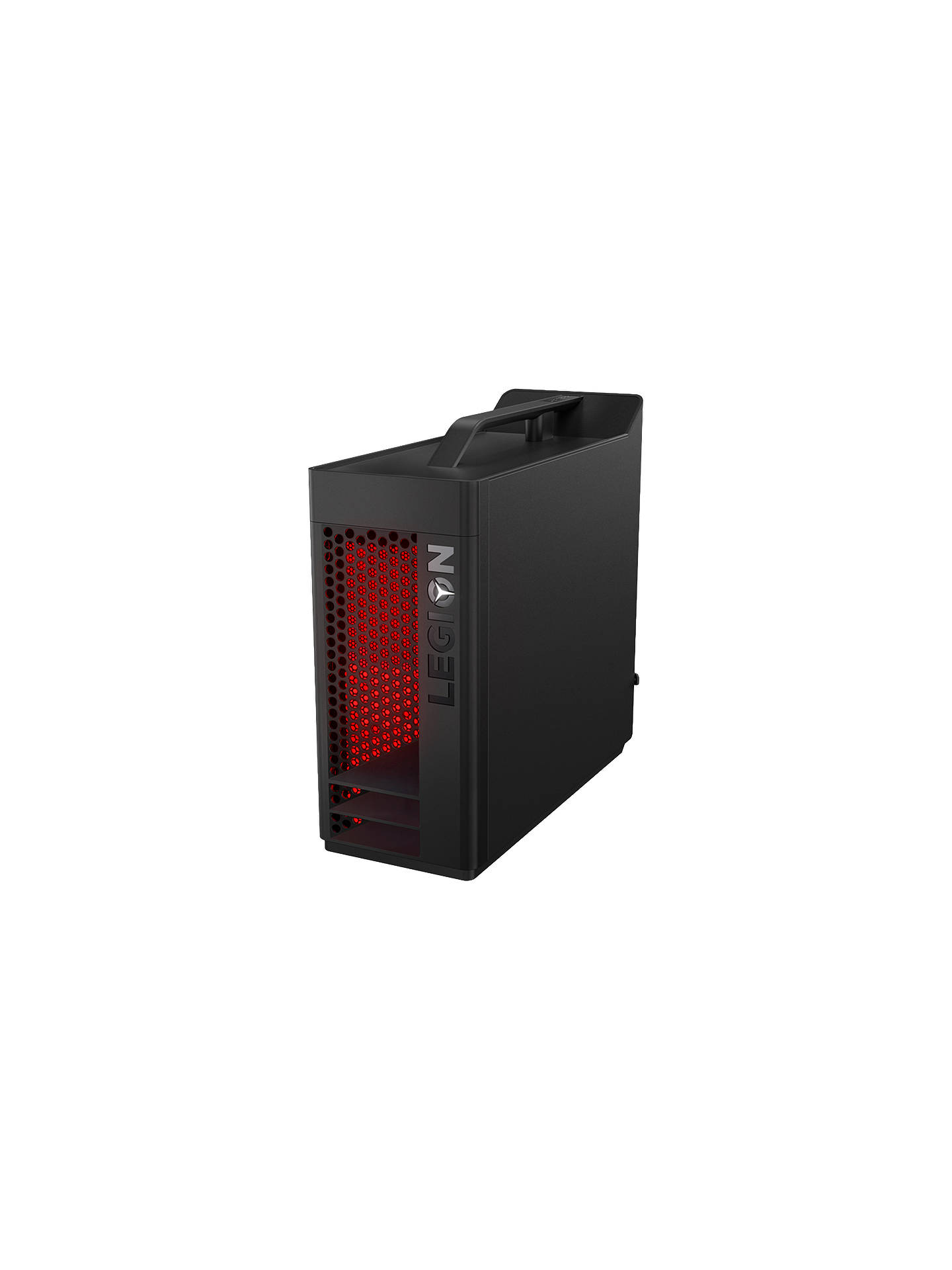 BuyLenovo Legion T530 Gaming PC, Intel Core i7, 16GB RAM, 2TB HDD + 256GB SSD, GeForce GTX 1050Ti, Black Online at johnlewis.com