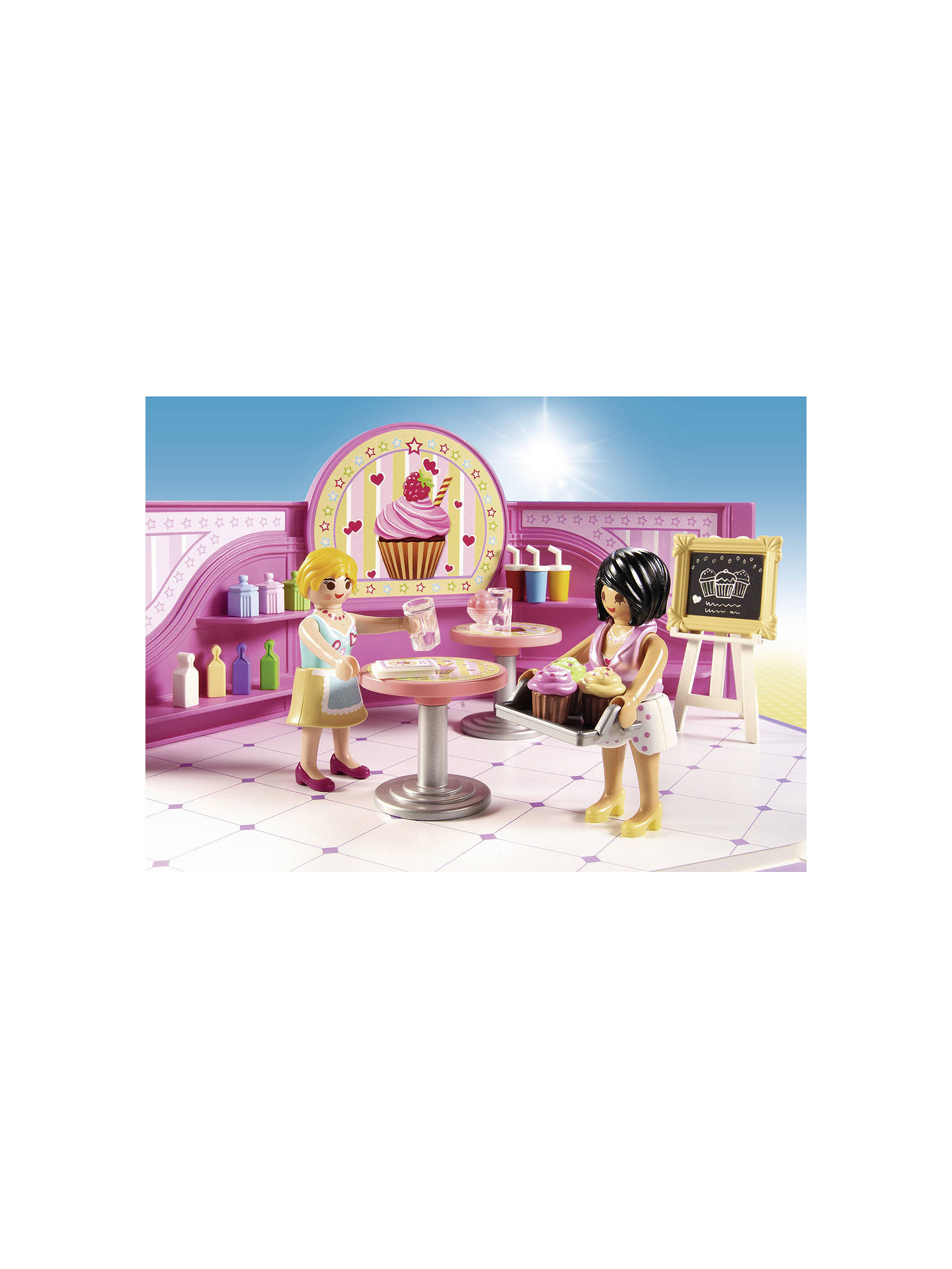BuyPlaymobil City Life 9080 Cupcake Shop Online at johnlewis.com