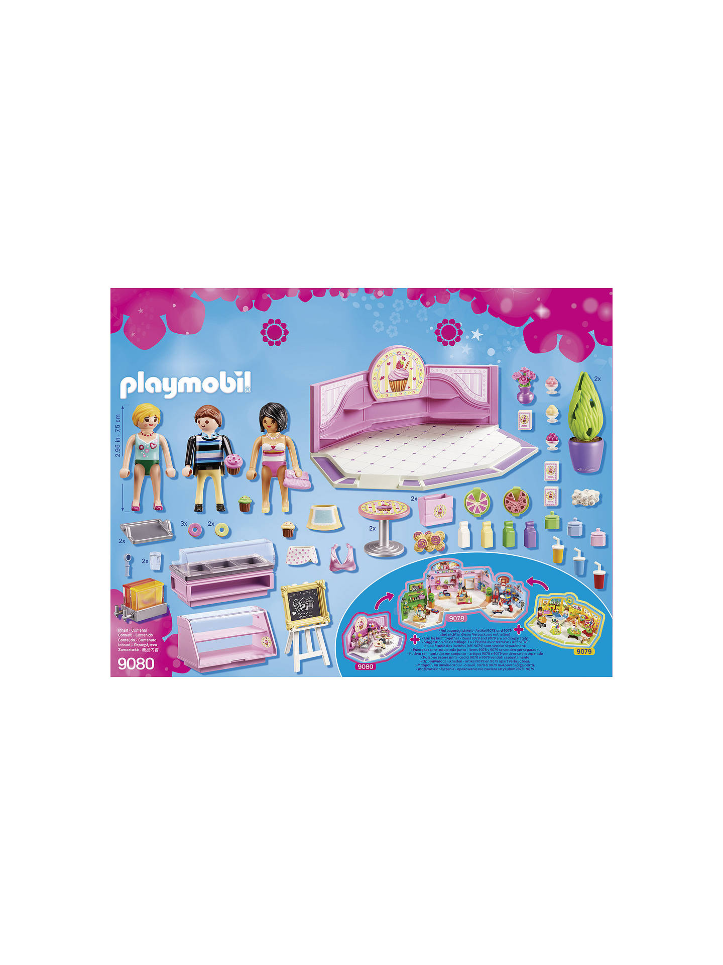 Buy Playmobil City Life 9080 Cupcake Shop Online at johnlewis.com