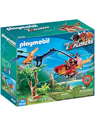 Playmobil The Explorers 9430 Helicopter with Pterosaur