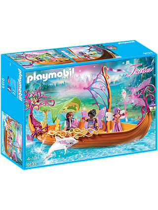 Buy Playmobil Fairies 9133 Enchanted Fairy Ship Online at johnlewis.com