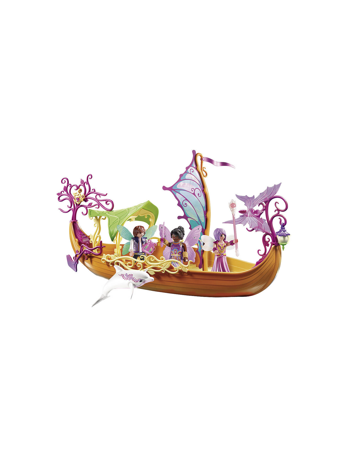 BuyPlaymobil Fairies 9133 Enchanted Fairy Ship Online at johnlewis.com