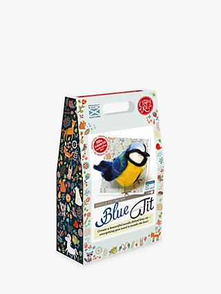 The Crafty Kit Company Felt Your Own Blue Tit Craft Kit