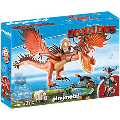 Playmobil Dragons 9459 Snotlout And Hookfang Play Set