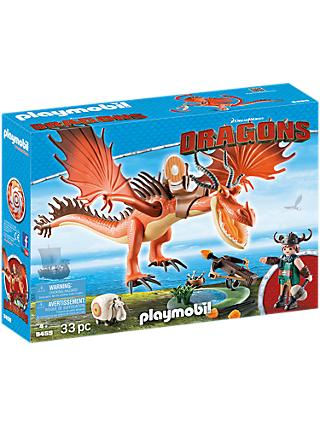 Playmobil Dragons 9459 Snotlout and Hookfang Play Set