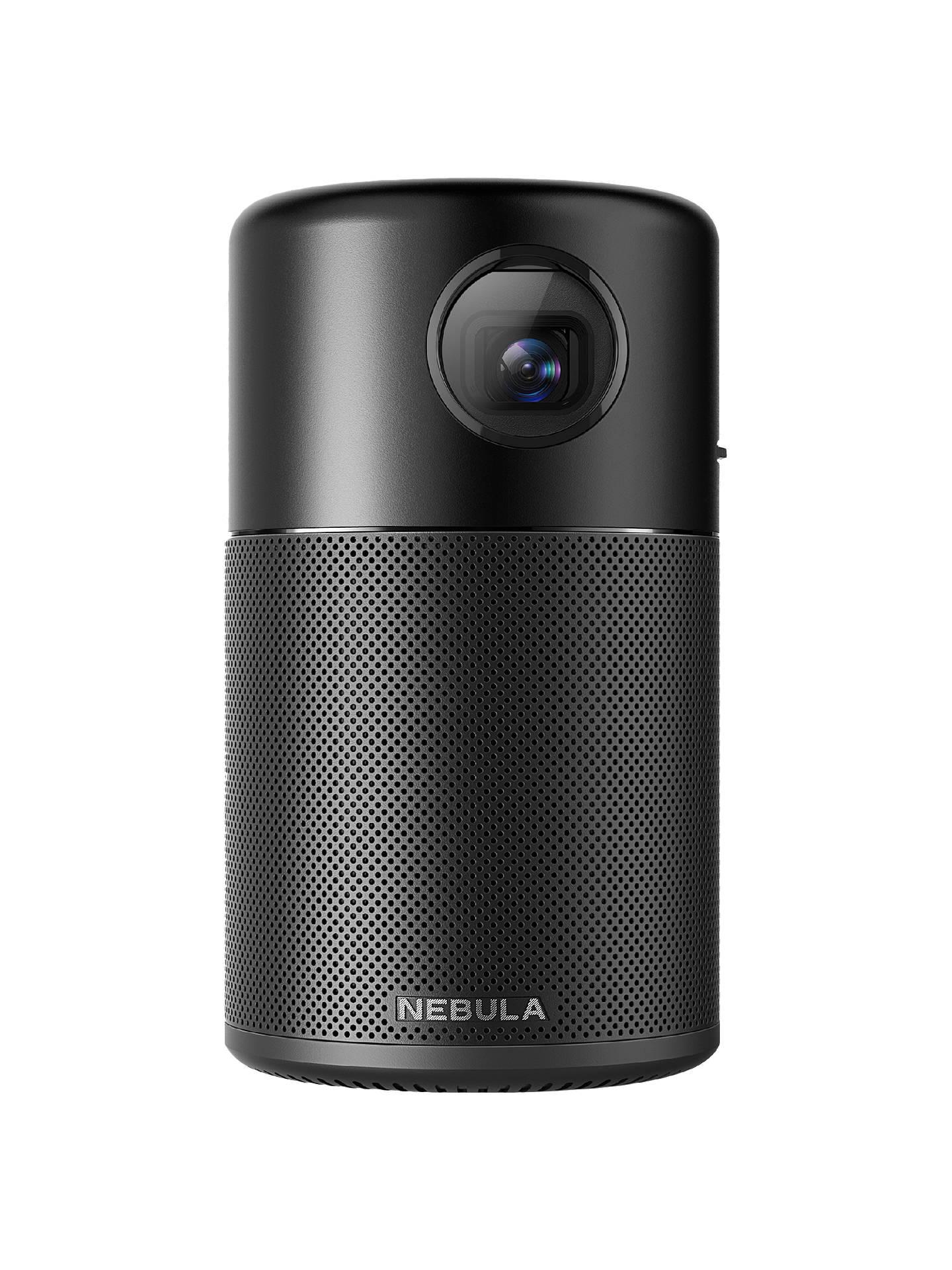 dce94b9ef0cca0 Buy Nebula Capsule HD Ready Smart Mini Projector, 100 Lumens Online at  johnlewis.com ...