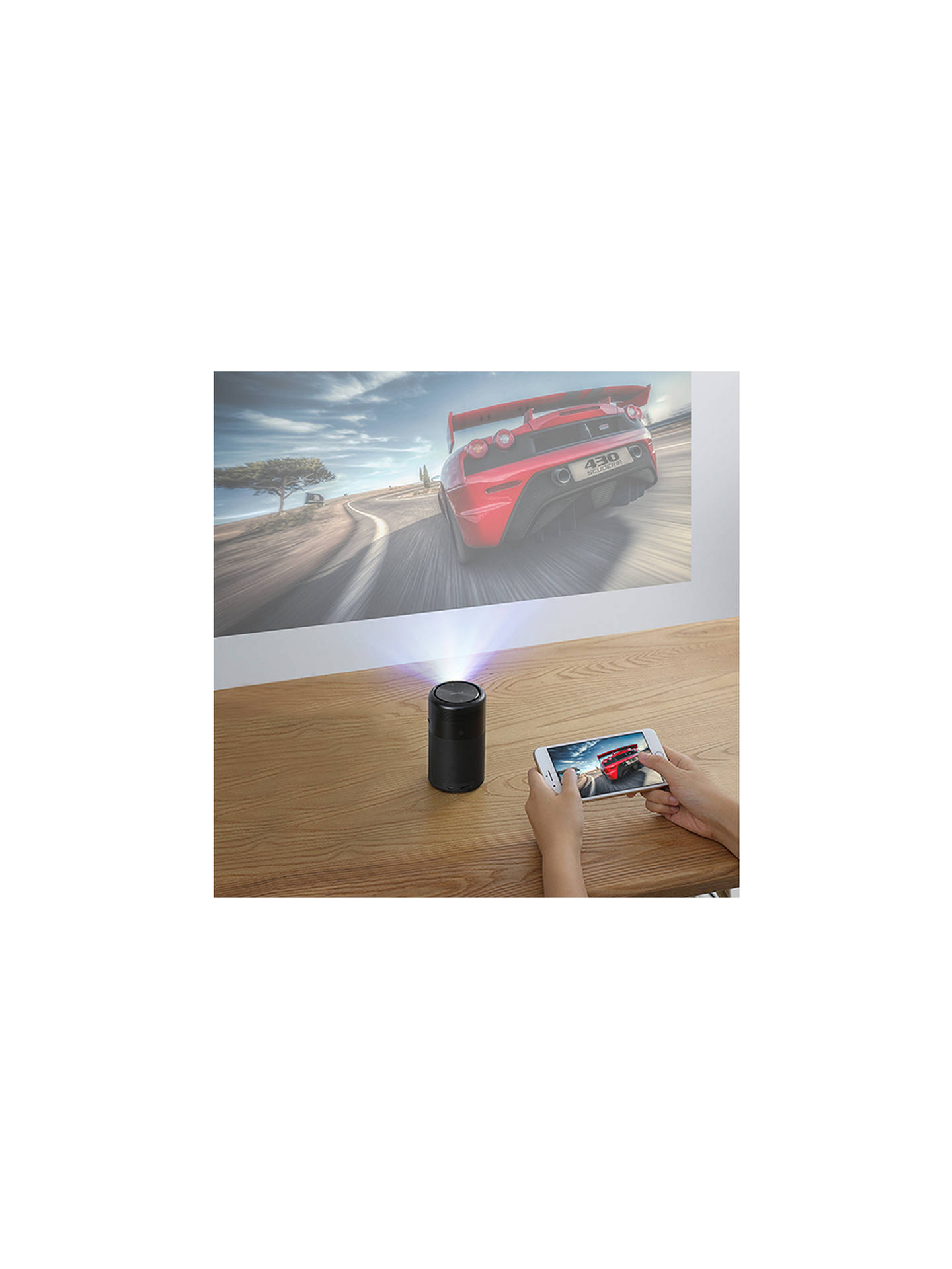 Buy Nebula Capsule HD Ready Smart Mini Projector, 100 Lumens Online at johnlewis.com