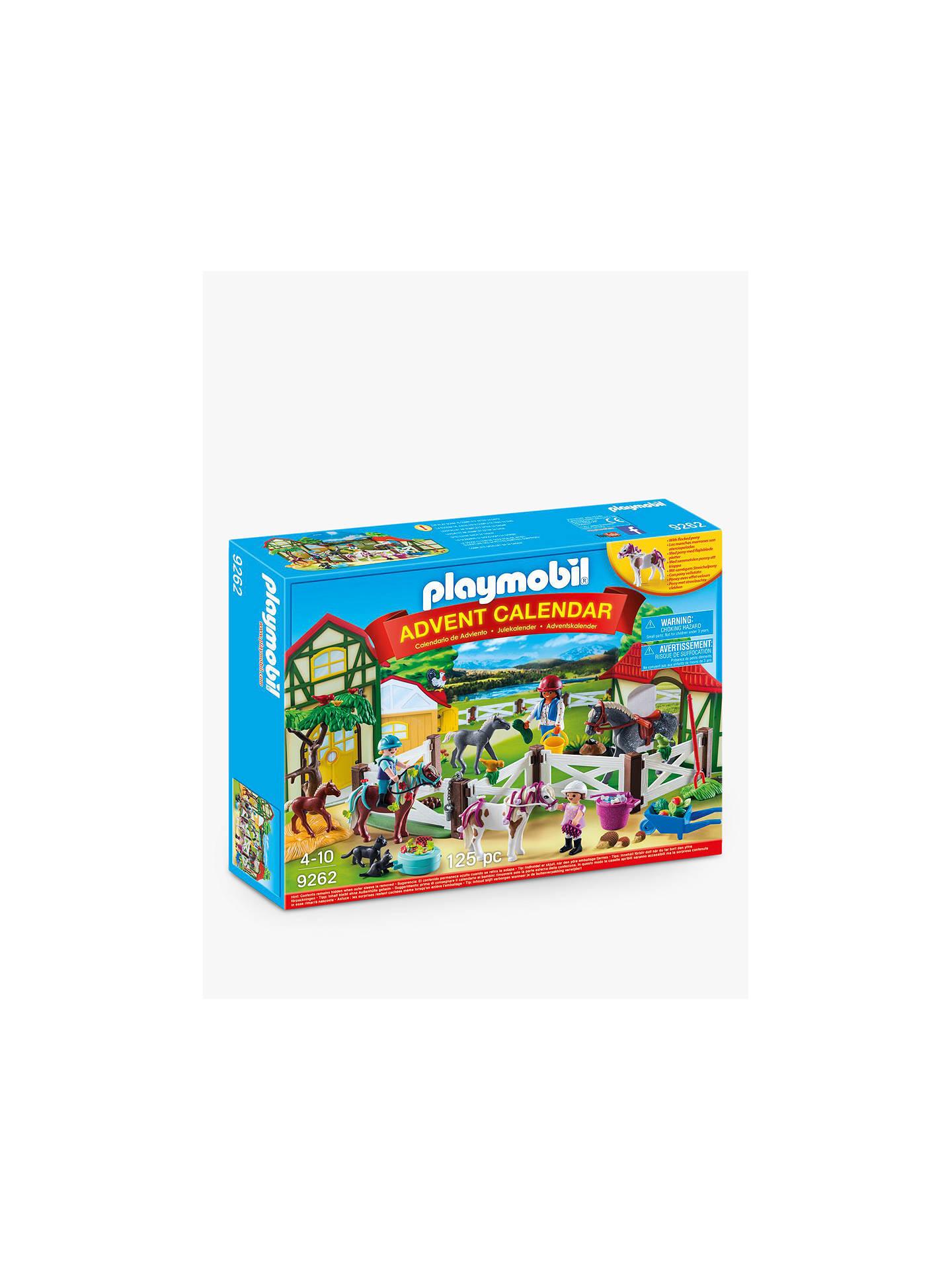 Playmobil Horse Farm Advent Calendar by Playmobil