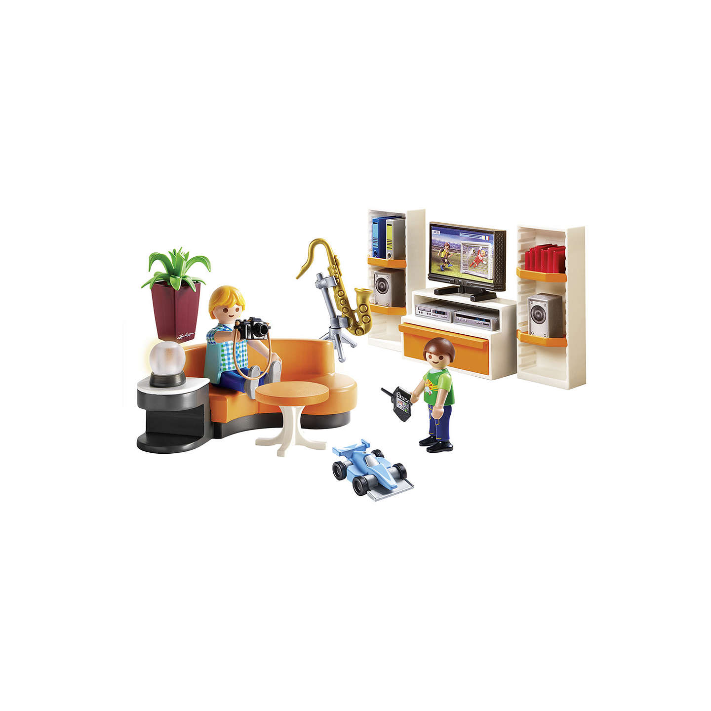 Playmobil City Life 9267 Living Room at John Lewis