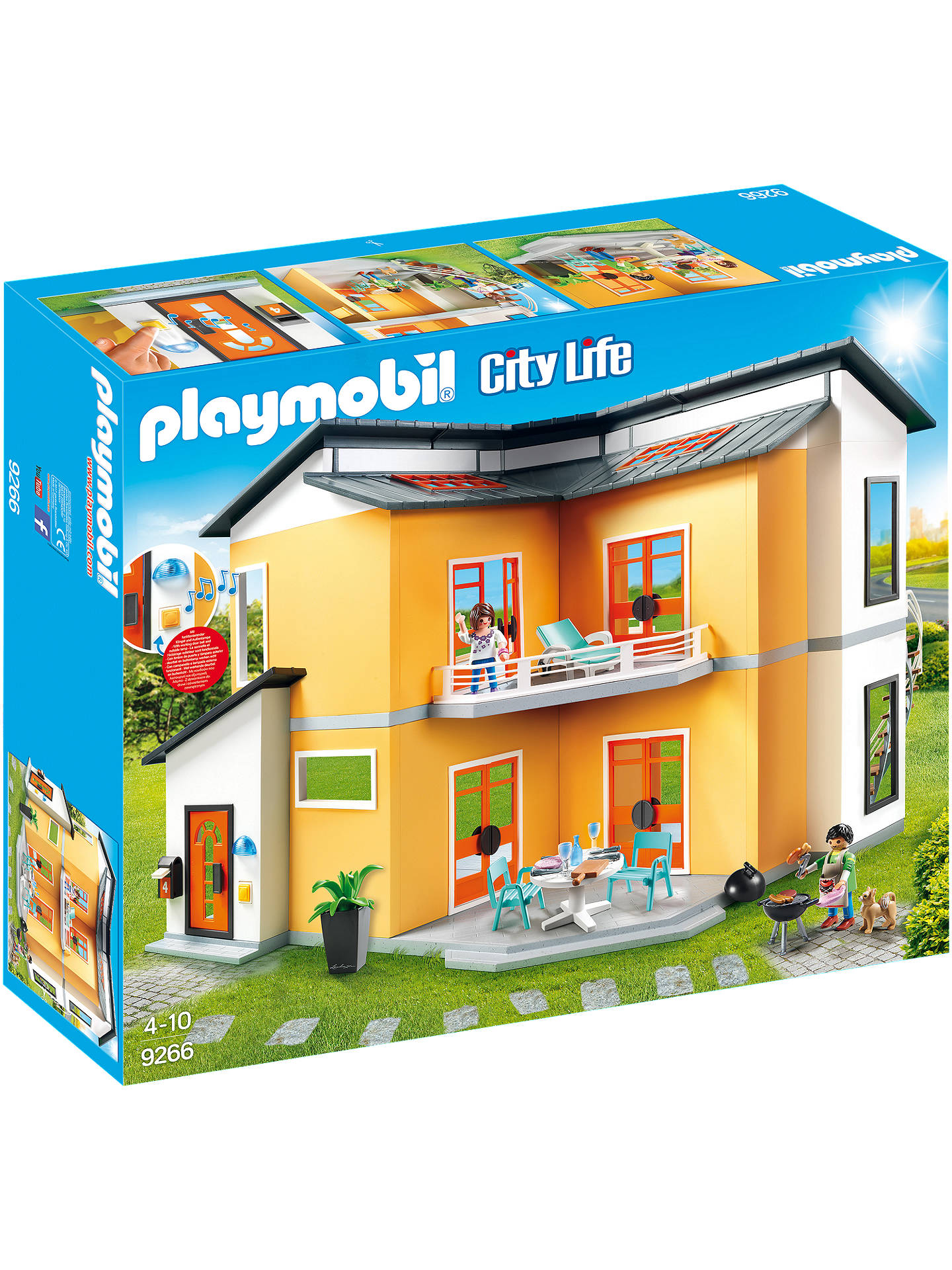 Buy Playmobil City Life 9266 Modern House Online at johnlewis.com