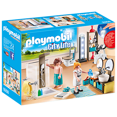 Playmobil 9268 City Life Bathroom
