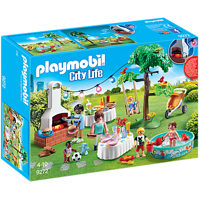 Playmobil City Life 9272 Housewarming Party Set