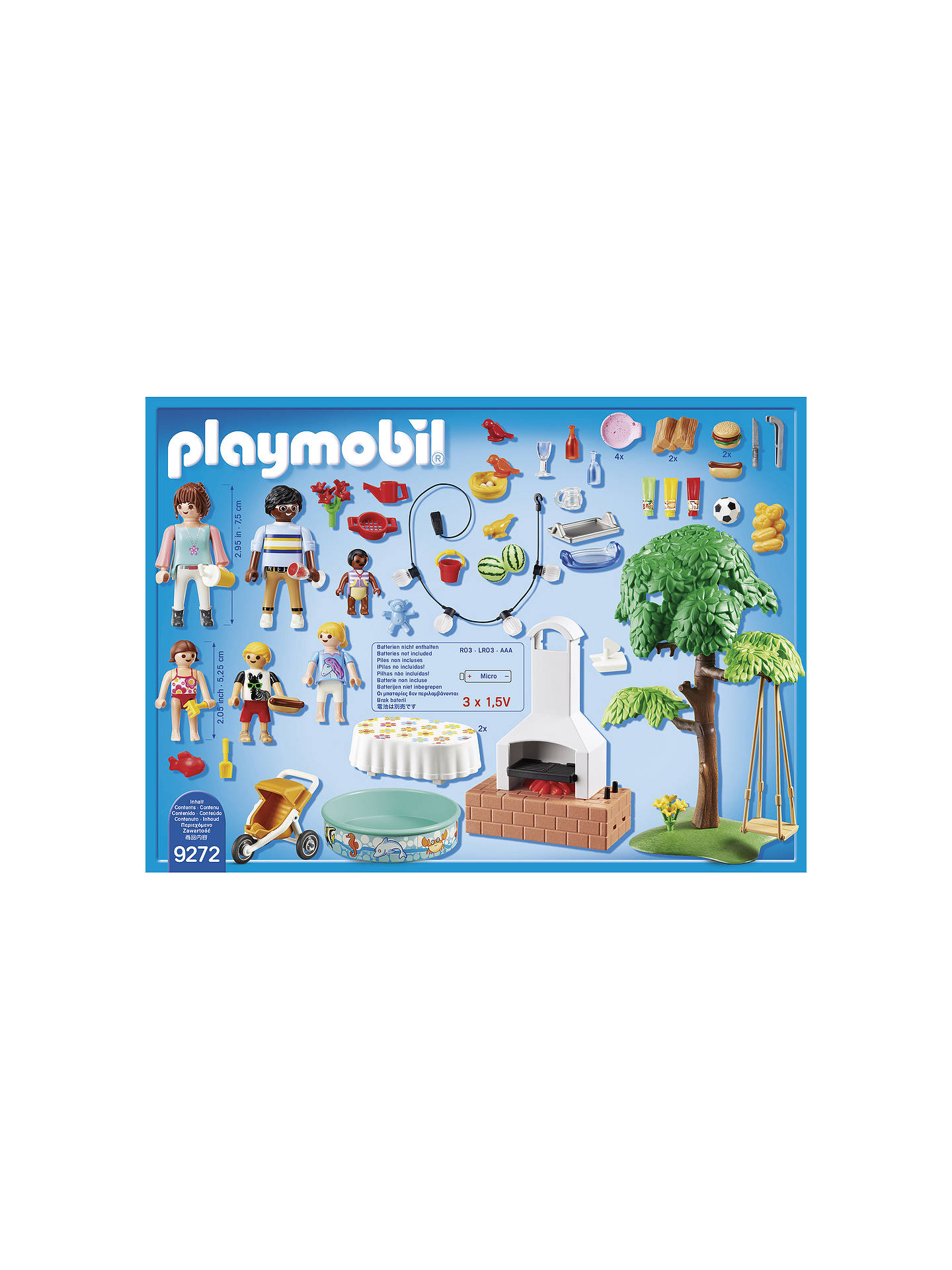 Buy Playmobil City Life 9272 Housewarming Party Set Online at johnlewis.com