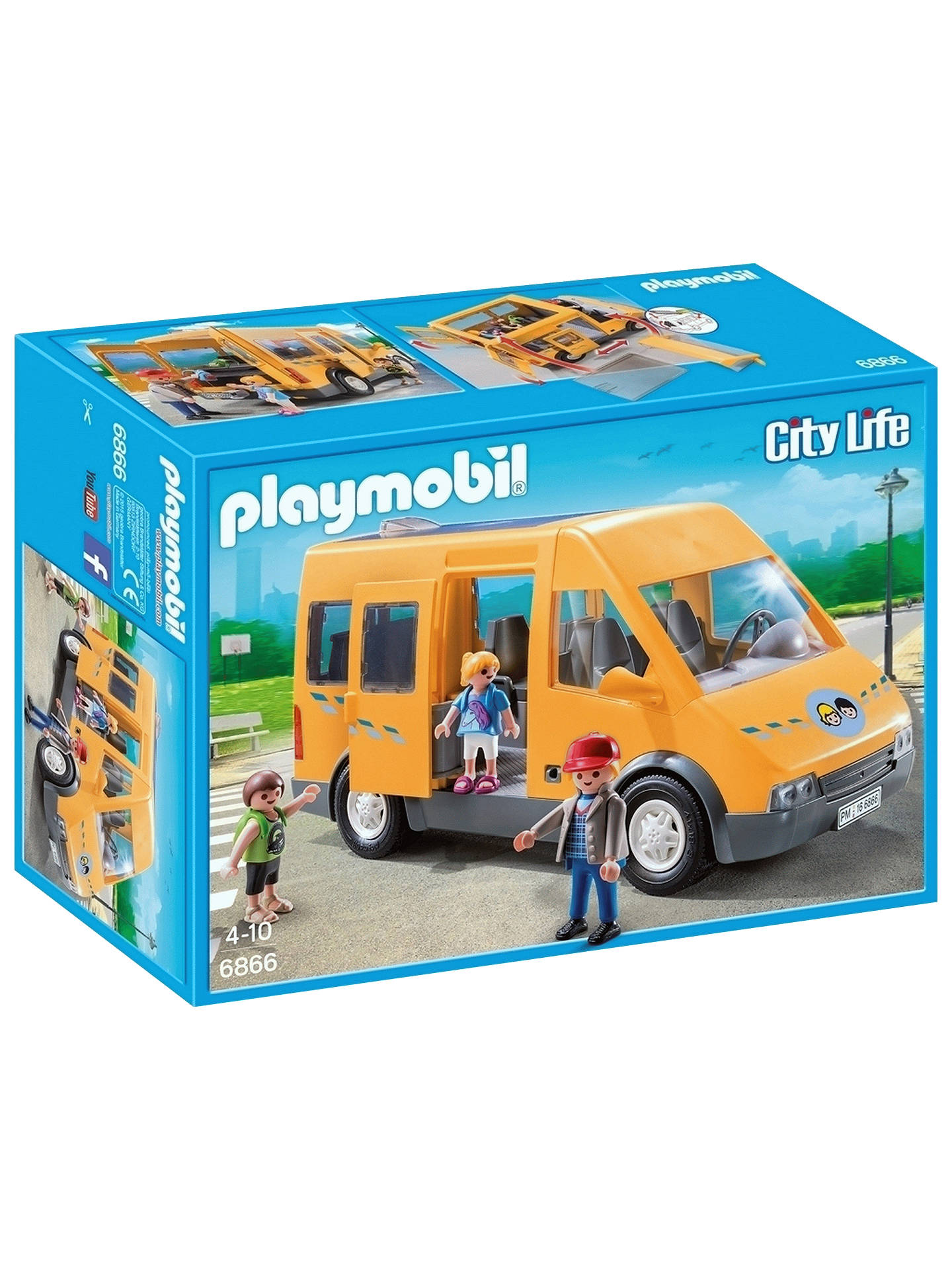 BuyPlaymobil City Life 6866 School Bus Online at johnlewis.com