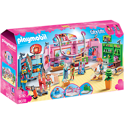 Click here for Playmobil City Life 9078 Shopping Plaza
