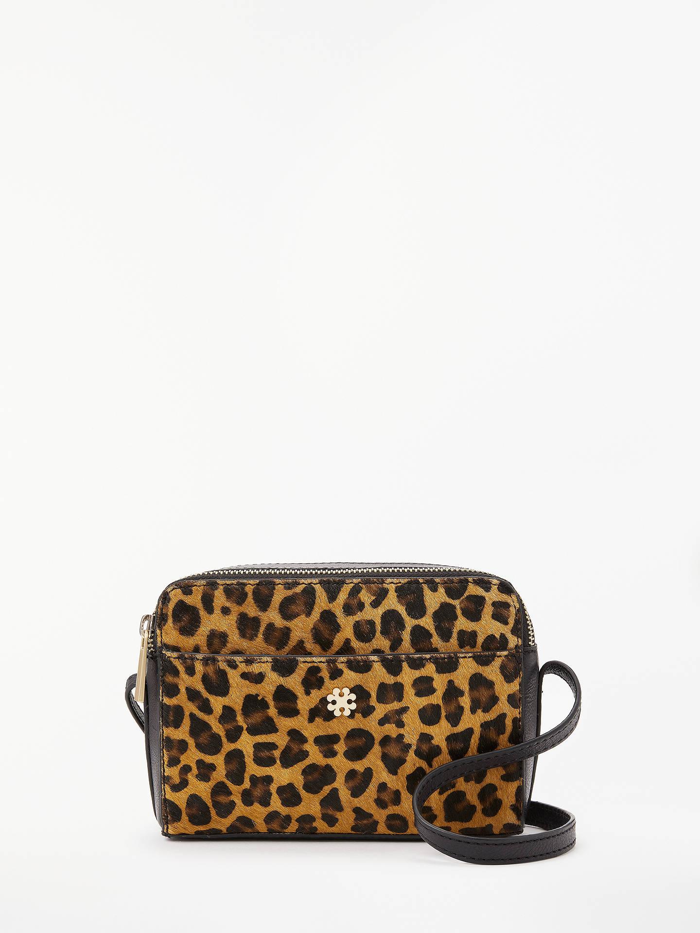 4595a8e6 Buy DAY BIRGER ET MIKKELSEN Day Must Leo Leather Cross Body Bag,  Leopard/Black ...