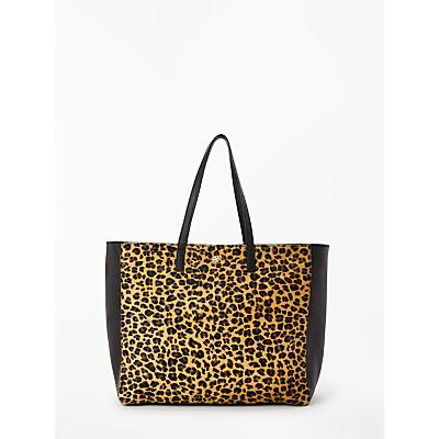 DAY BIRGER ET MIKKELSEN Day Must Leo Leather Shopper Bag, Leopard/Black