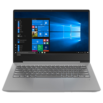 "Image of Lenovo IdeaPad 330S 81F400G3UK Laptop, Intel® Core™ i3, 8GB, 128GB SSD, 14"" Full HD, Grey"