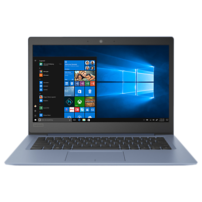 Lenovo IdeaPad 120S 81A500H6UK Laptop, Intel Celeron N3350, 4GB RAM, 32GB HDD,14, Blue
