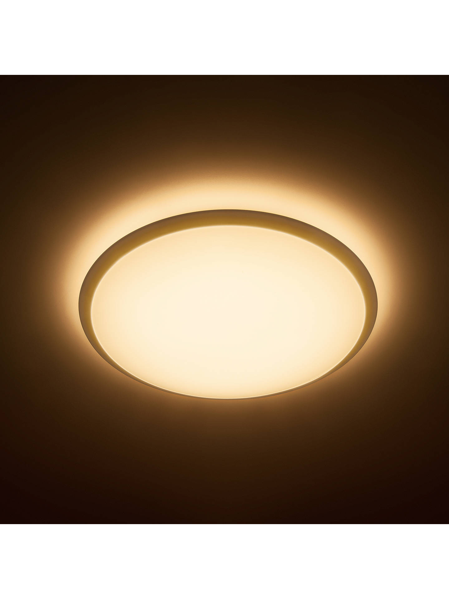 new product 4f68a e07c7 Philips Wawel Tunable LED Flush Ceiling Light, White
