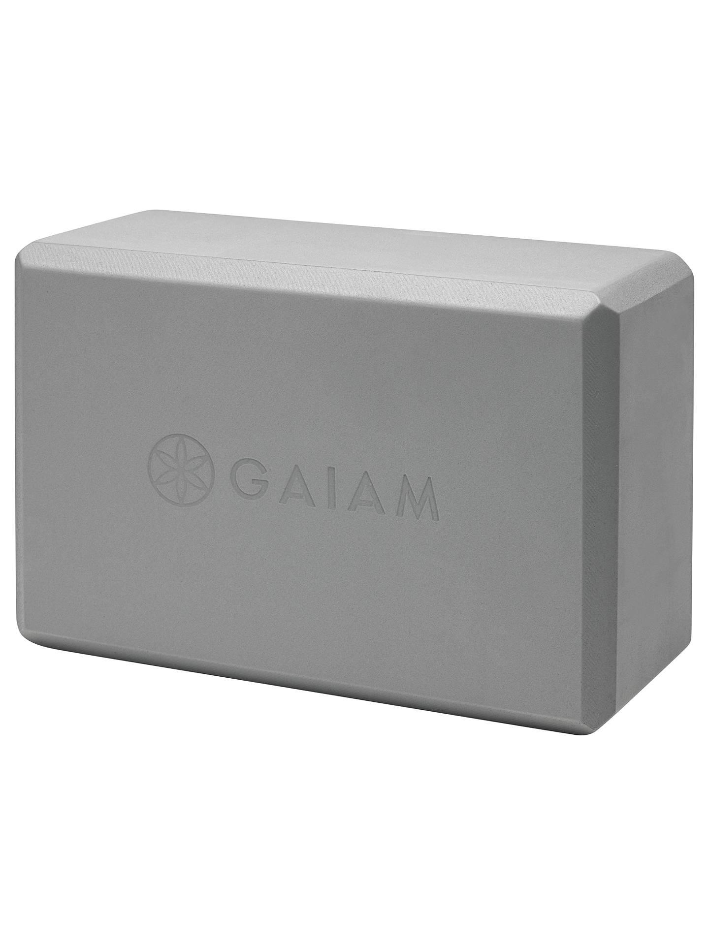 Gaiam Yoga Block Grey