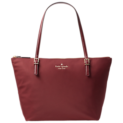 kate spade new york Watson Lane Maya Large Tote Bag, Dark Currant