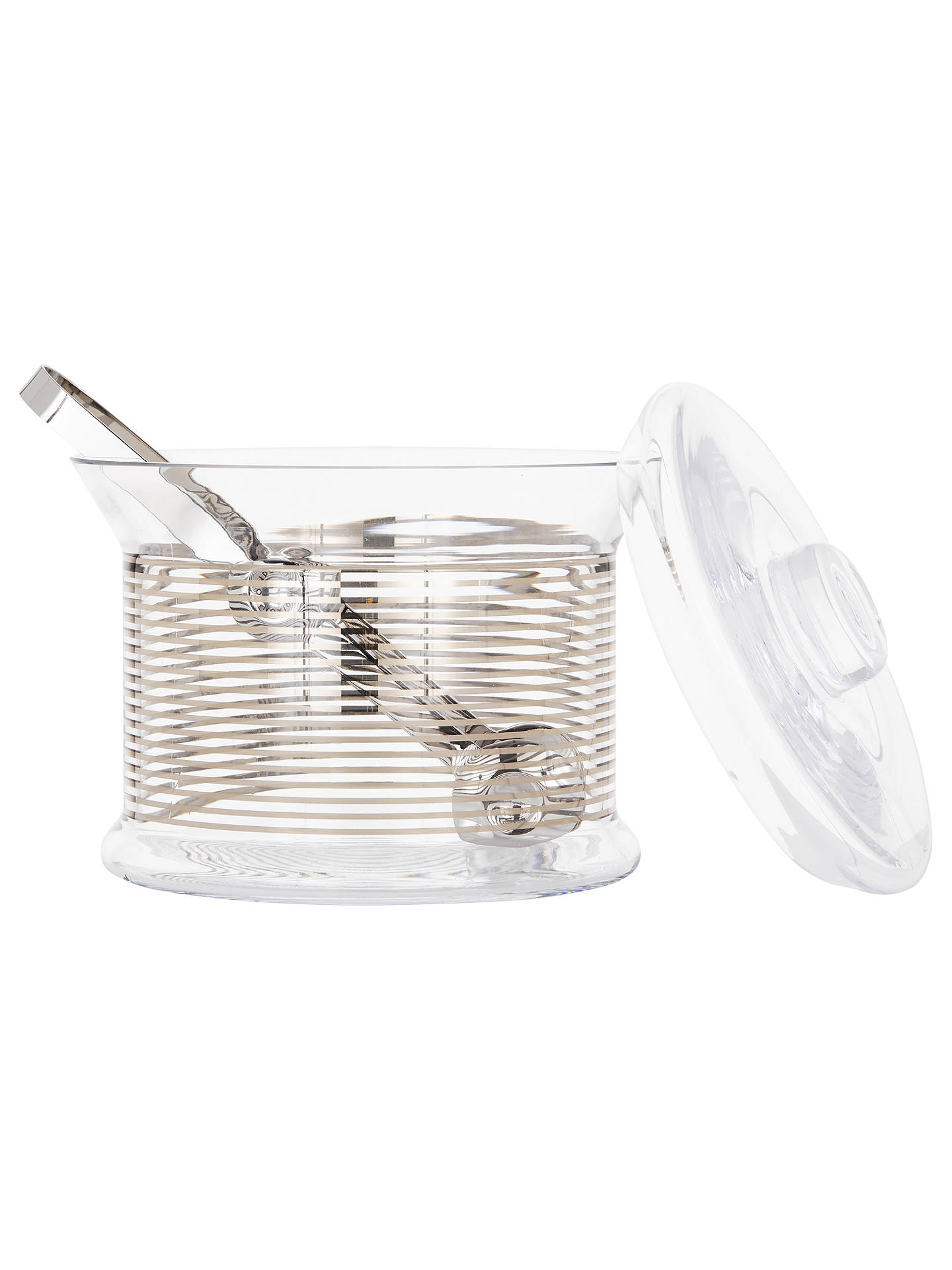BuyTom Dixon Tank Ice Bucket and Tongs Online at johnlewis.com