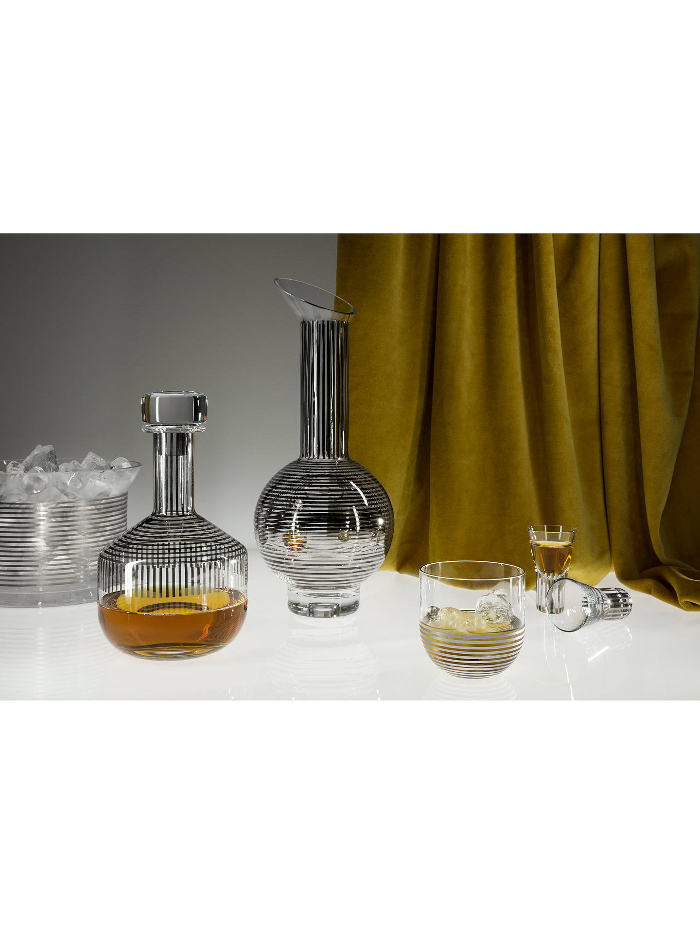 BuyTom Dixon Tank Whiskey Decanter and Glasses Set Online at johnlewis.com
