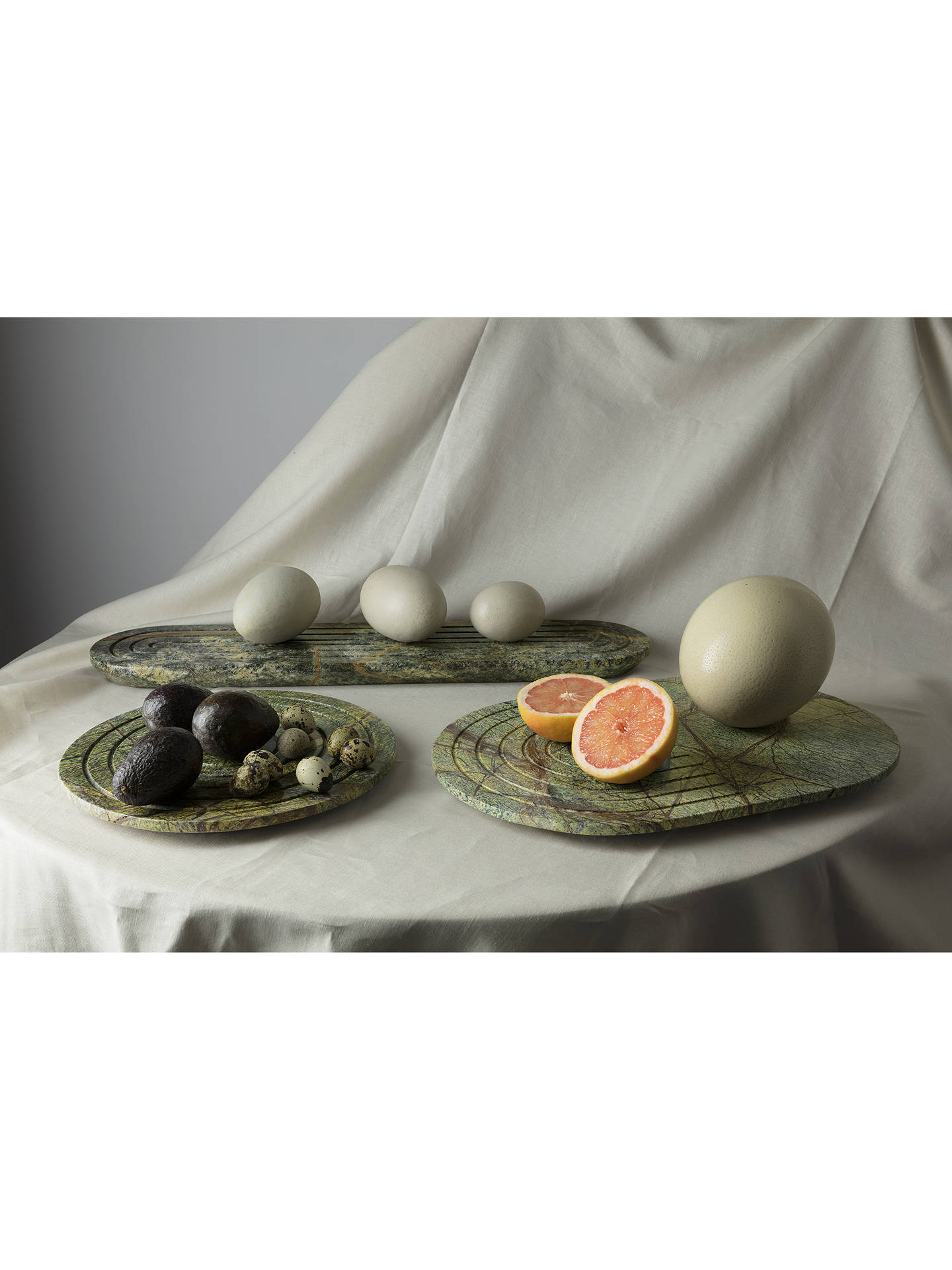 Buy Tom Dixon Stone Chopping Board, Round Online at johnlewis.com